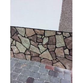 Песчаник Alex Group Теребовлянский тротуарный 5 см красно-серый
