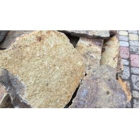 Рваный камень Alex Group Закарпатский андезит 4,5 см оливково-серый