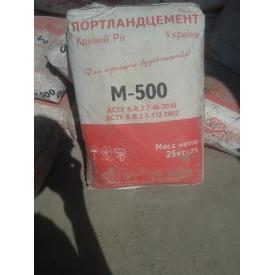 Цемент Портландцемент М500 25 кг