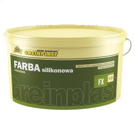 Краска фасадная силиконовая Greinplast FX 6,75 кг