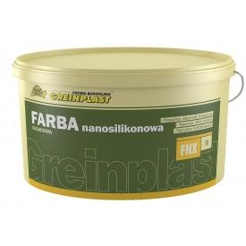 Краска фасадная наносиликоновая Greinplast FNX 6,75 кг