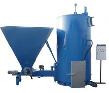 Твердотопливный парогенератор Wichlacz Wp R с автоматической подачей топлива 75 кВт