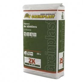 Раствор для клинкера Greinplast ZK 25 кг коричневый