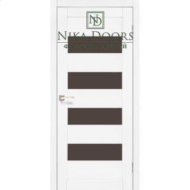 Межкомнатные двери Корфад PIANO DELUXE PND-02 Ясень белый