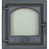 Каминная дверца SVT 412 герметичная со стеклом левая