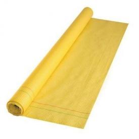 Гидроизоляционная пленка армированная 75 м2 желтая