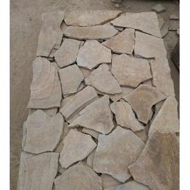 Камень плитняк Донецкий 10 мм коричневый