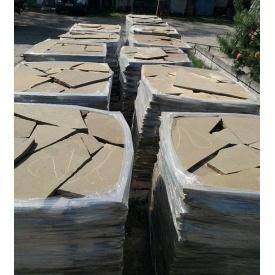Камень плитняк Луганский 10 мм оливковый
