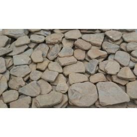 Камень плитняк окатанный 20 мм коричневый