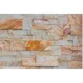 Облицовочный камень Сланец Римская кладка 10 см бежевый