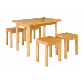 Стол кухонный Мебель-Сервис Олимп 1000х600х740 мм ольха