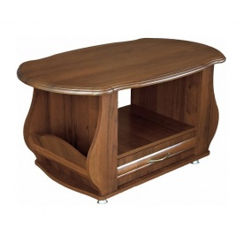 Стол журнальный Мебель-Сервис Ретро 490х1015х602 мм орех