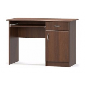 Письменный стол Мебель-Сервис 1-тумбовый МДФ 755х1100х500 мм орех