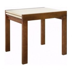 Стол раскладной Мебель-Сервис Твист 760х820х670 мм орех/дуб молочный