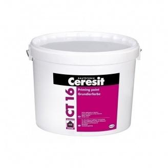 Грунтовка под декоративные штукатурки Ceresit СТ 16 10 л