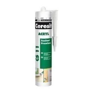 Универсальный акриловый герметик Ceresit Akryl СS 11 280 мл (645834)