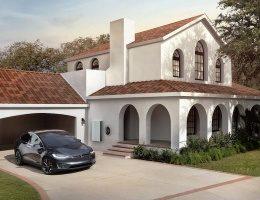 Tesla запустила новую фабрику по производству солнечных кровель
