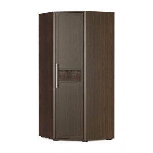 Угловой шкаф Мебель-Сервис Токио 960х2135х960 мм венге