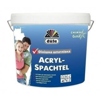 Шпаклевка Dufa Acryl-Spachtel 3,5 кг белый