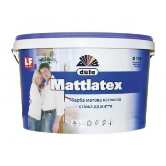 Краска Dufa Mattlatex D100 10 л белый