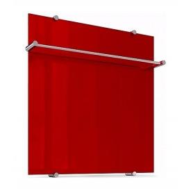 Полотенцесушитель Теплолюкс Flora стеклянный электрический 60х60 см красный