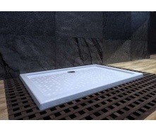 Душевой поддон из литого камня мрамора Snail Титан 1200x800 мм