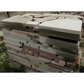 Плита резаная естественной формы из песчаника