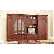 Гостиная Мебель-Сервис Флоренция 2110х3190х510 мм кедр