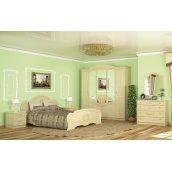 Спальня Мебель-Сервис Барокко 5Д береза