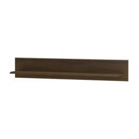 Полиця настінна Меблі-Сервіс Парма 152 1522х250х266 мм дуб сонома