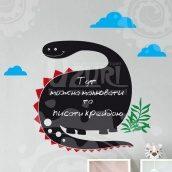 Інтер'єрна наклейка Uzuri Динозаврик 815x700 мм