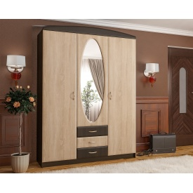 Прихожая Мебель-Сервис Вита-1 2100х1500х520 мм венге/дуб самоа
