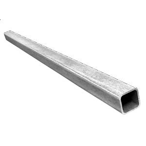 Алюминиевая труба прямоугольная AS 40x20x2 мм