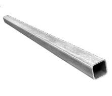 Алюминиевая труба квадратная БП 25x25x2 мм