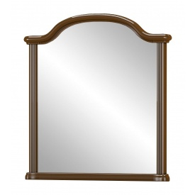 Зеркало Мебель-Сервис Алабама 1000х1098 мм вишня портофино