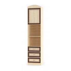 Пенал Мебель-Сервіс Дісней 1Д3Ш 500х377х2180 мм дуб світлий