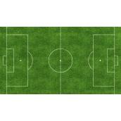 Пристрій поля для гри у футбол зі штучної трави
