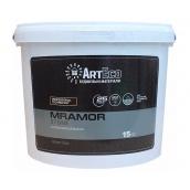 Мозаичная штукатурка ArtEco Mramor STONE SILVER B057 15 кг