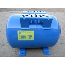 Гидроаккумулятор горизонтальный Ukrainian water system 24 сталь 24 л