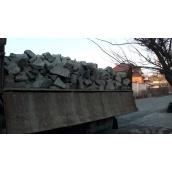 Доставка бутового камня машиной МАЗ 16 м3 22 т