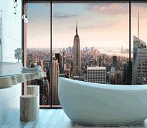 В дусі великого міста: вибираємо плитку і сантехніку