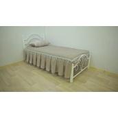 Односпальне ліжко Метал-Дизайн Діана-міні на дерев'яних ніжках 1900х800 мм