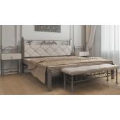 Двоспальне ліжко Метал-Дизайн Стелла 1900х1400 мм металева