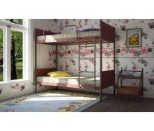 Двухъярусная кровать Арлекино Металл-Дизайн 1900х800 мм черная