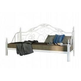 Металевий диван-ліжко Леон Метал-Дизайн на дерев`яних ніжках 1900х800 мм