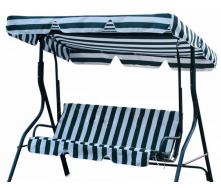 Подвесной диванчике садовый 170х115х157 см