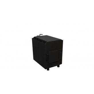 Печь с дополнительным дожигом пиролизного газа с варочной поверхностью 6 кВт