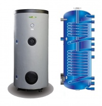 Бойлер косвенного нагрева Elektromet WGJ-S DUO 300 л