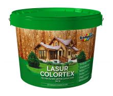 Лазурь Kompozit COLORTEX 0,9 л красное дерево