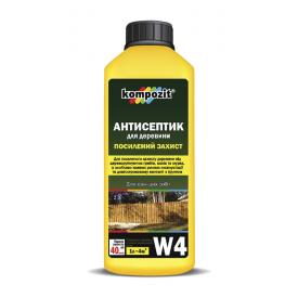 Антисептик для посиленого захисту Kompozit W4 1 л